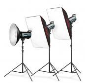 Комплект студийно осветление Expert QS II 900 Fashion