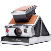 Фотоапарат Polaroid SX-70 SLR сребристо-кафяв
