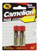 Алкални батерии AA Camelion Plus (LR06) 2бр