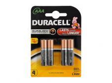 Алкална Батерия DURACELL Duralock (LR03) 4бр