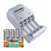 Зарядно устройство Camelion + Акумулаторни Батерии Camelion 2500mAh (LR06) 4бр