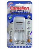 Зарядно устройство Camelion + Акумулаторни Батерии Camelion 1000mAh (LR03) 2бр