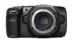 Компактна дигитална камера Blackmagic Pocket Cinema Camera 6K + 2 батерии Hahnel LP-E6 + Зарядно устройство за две батерии Hahnel ProCube 2