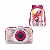 Фотоапарат Nikon Coolpix W150 Flower + Раничка