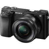 Фотоапарат Sony Alpha A6100 тяло +  Обектив Sony E PZ 16-50mm f/3.5-5.6 OSS