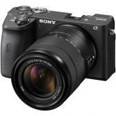 Фотоапарат Sony Alpha A6600 тяло + Обектив Sony E 18-135mm f/3.5-5.6