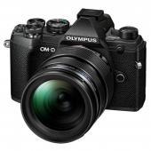 Фотоапарат Olympus OM-D E-M5 Mark III Black + обектив Olympus MFT 12-40mm f/2.8 PRO + Обектив Olympus M.Zuiko Digital 45mm f/1.8 Silver + Батерия JUPIO LI-ION (заместител на Olympus BLS5 / BLS50)