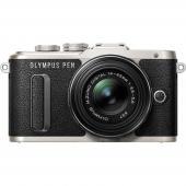 Фотоапарат Olympus E-PL8 Black + обектив Olympus MFT 14-42mm f/3.5-5.6 II R MSC