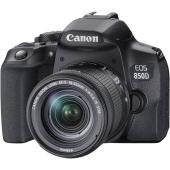 Фотоапарат Canon EOS 850D + Обектив Canon EF-s 18-55mm f/3.5-5.6 STM