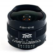 Обектив Zenit Zenitar 16mm f/2.8 Fisheye за M42