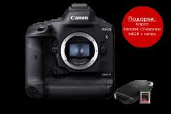Фотоапарат Canon EOS 1Dx Mark III + 64GB CFexpress карта и четец