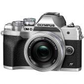 Фотоапарат Olympus OM-D E-M10 Mark IV Silver  + Обектив Olympus M.Zuiko Digital ED 14-42mm f/3.5-5.6 EZ Silver