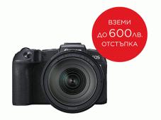 Фотоапарат Canon EOS RP тяло + Обектив Canon RF 24-105mm f/4L IS USM + Адаптер Canon EF-EOS R