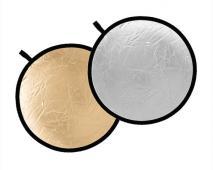 Отражателен диск Dynaphos 2 в 1 Silver/Gold 30 см
