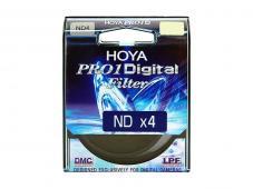 Филтър Hoya PRO1D ND4 62mm