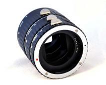 Комплект екстендери Phottix AF Macro Extension Tube (за Canon)