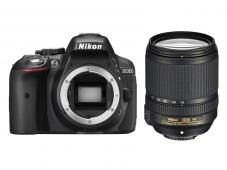 Фотоапарат Nikon D5300 Black тяло + Обектив Nikon AF-S DX Nikkor 18-140mm f/3.5-5.6G ED VR + Комплект Nikon DSLR Accessory Kit 3in1 (CF-EU11 Bag + EN-EL14a + 16GB SD)