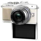 Фотоапарат Olympus Pen E-PL7 White тяло + Обектив M.Zuiko Digital ED 14-42mm 1:3.5-5.6 EZ Silver
