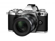 Фотоапарат Olympus OM-D E-M5 Mark II Silver тяло + Обектив Olympus M.Zuiko Digital ED 12-50mm f/3.5-6.3 EZ Black