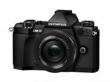 Фотоапарат Olympus OM-D E-M5 Mark II Black тяло + Обектив Olympus M.Zuiko Digital ED 14-42mm f/3.5-5.6 EZ Black