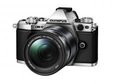 Фотоапарат Olympus OM-D E-M5 Mark II Silver тяло + Обектив Olympus M.Zuiko Digital ED 14-150mm f/4-5.6 II Black