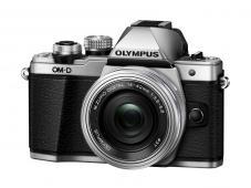 Фотоапарат Olympus OM-D E-M10 Mark II Silver Kit (14-42mm EZ)