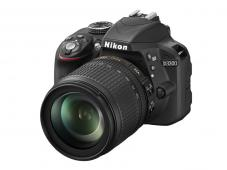 Фотоапарат Nikon D3300 Black тяло + Обектив Nikon AF-S DX Nikkor 18-105mm f/3.5-5.6G ED VR