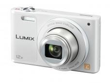Фотоапарат Panasonic Lumix DMC-SZ10 White + Памет SDHC Transcend Premium 8GB (Class 10)