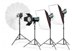 Expert QS-1800 Studio - комплект студийно осветление