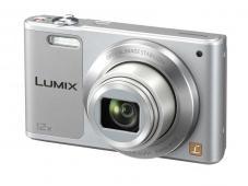 Фотоапарат Panasonic Lumix DMC-SZ10 Silver + Памет SDHC Transcend Premium 8GB (Class 10)