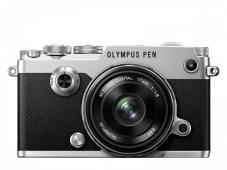 Фотоапарат Olympus PEN-F Kit (Silver) + Обектив Olympus M.Zuiko Digital 17mm f/1.8 MSC (Black)