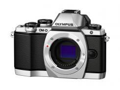 Фотоапарат Olympus OM-D E-M10 Silver тяло