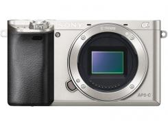 Фотоапарат Sony Alpha A6000 Silver Body