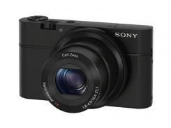 Фотоапарат Sony Cyber-Shot DSC-RX100 Black +  Кожен калъф LCJ-RXA
