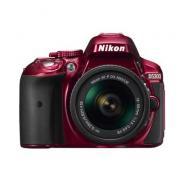 Фотоапарат Nikon D5300 Red тяло + Обектив Nikon AF-P DX Nikkor 18-55mm f/3.5-5.6G VR