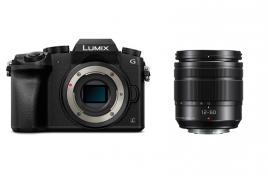Фотоапарат Panasonic Lumix G7 тяло Black + Oбектив Panasonic Lumix G Vario 12-60mm f/3.5-5.6 ASPH. POWER O.I.S. + Батерия Li-Ion Panasonic DMW-BLC12