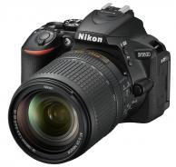 Фотоапарат Nikon D5600 Black  тяло + Обектив Nikon AF-S DX Nikkor 18-140mm f/3.5-5.6G ED VR + Памет SDHC SanDisk Ultra 16GB (45MB/s)