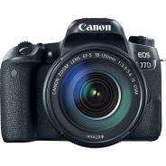 Фотоапарат Canon EOS 77D тяло + Обектив Canon EF-S 18-135mm f/3.5-5.6 IS Nano USM