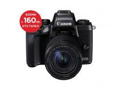Фотоапарат Canon EOS M5 + Обектив Canon EF-M 18-150 3.5-6.3 IS STM