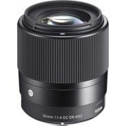 Обектив Sigma 30mm f/1.4 DC DN Contemporary за Canon EOS-M