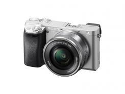 Фотоапарат Sony Alpha A6300 Silver body + Обектив Sony E PZ 16-50mm f/3.5-5.6 OSS