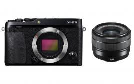 Фотоапарат Fujifilm X-E3 Черен тяло + Обектив Fujifilm Fujinon XC 15-45mm f/3.5-5.6 OIS PZ