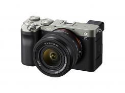 Фотоапарат Sony A7C Body Silver + Обектив Sony FE 28-60mm f/4-5.6