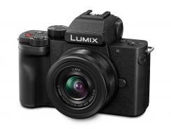 Фотоапарат Panasonic Lumix DC-G100 + Обектив Lumix G-VARIO 12-32mm f/3.5-5.6 ASPH. MEGA O.I.S.