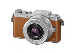 Фотоапарат Panasonic GF7 (BrownSilver) + обектив Panasonic Lumix G 12-32mm f/3.5-5.6 MEGA OIS (silver)