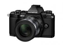 Фотоапарат Olympus OM-D E-M5 II Black Kit (12-50mm EZ Black)