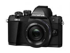 Фотоапарат Olympus OM-D E-M10 Mark II Black тяло + Обектив Olympus M.Zuiko Digital ED 14-42mm f/3.5-5.6 EZ