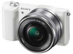 Фотоапарат Sony Alpha A5100 White Kit (16-50mm OSS)