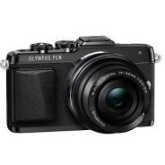 Фотоапарат Olympus Pen E-PL7 Black тяло + Обектив M.Zuiko Digital ED 14-42mm 1:3.5-5.6 EZ Black