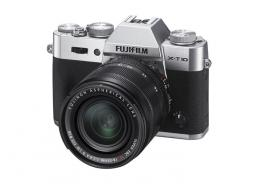 Фотоапарат Fujifilm X-T10 Silver kit (XF 18-55mm f/2.8-4 OIS)